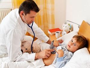 Консультация педиатра при заражении лишаем
