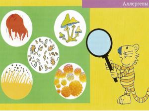 Аллергены – причины насморка у ребенка