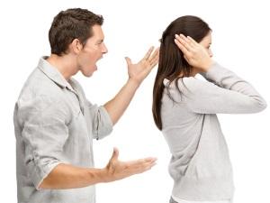 Ссоры родителей - причина испуга у ребенка