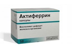 Препарат Актиферрин