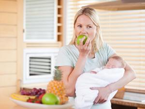 Корректировка питания кормящей матери