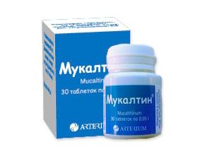 Препарат мукалтин