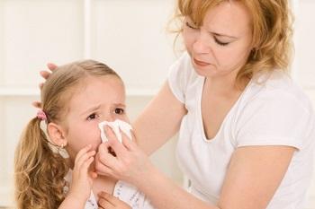 Проблема кровотечения из носа у ребенка