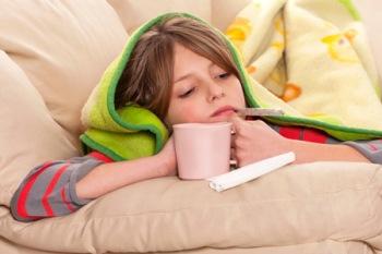 Обтирание уксусом при температуре у детей