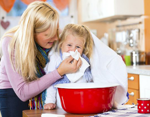 Ингаляции для лечения ребенка