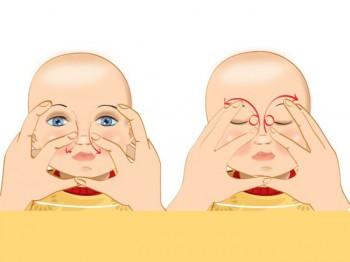 Массаж носа для лечения насморка