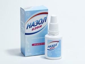 Назол бэби для промывания носа