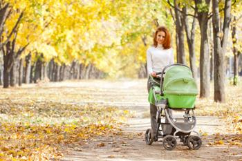 Прогулки с ребенком при температуре