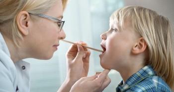 Проблема герпесной ангины у детей