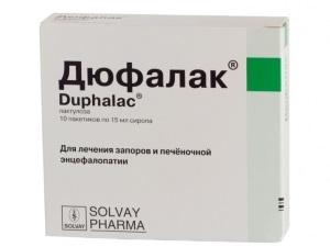 Дюфалак при запоре у грудничка