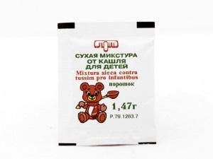 Польза детской сухой микстуры от кашля