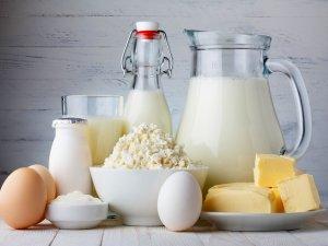 Высокое содержание витаминов в молочных продуктах