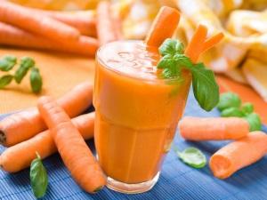 Употребление моркови - причина изменения цвета мочи