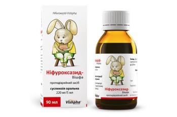 Препарат Нифуроксазид для детей