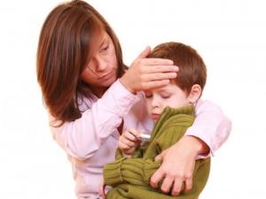 Озноб и лихорадка у ребенка с высокой температурой