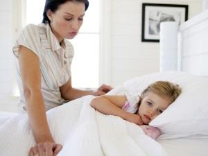 Постельный режим при простуде у ребенка