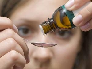 Прием капель Лимфомиозот при аденоидах