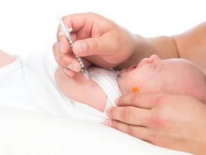 Вакцинация от туберкулеза в руку
