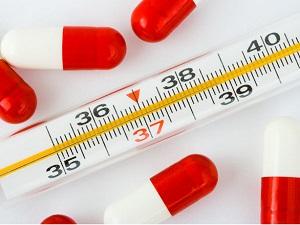 Повышение температуры тела при парапроктите