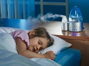 Увлажнение воздуха для облегчения кашля